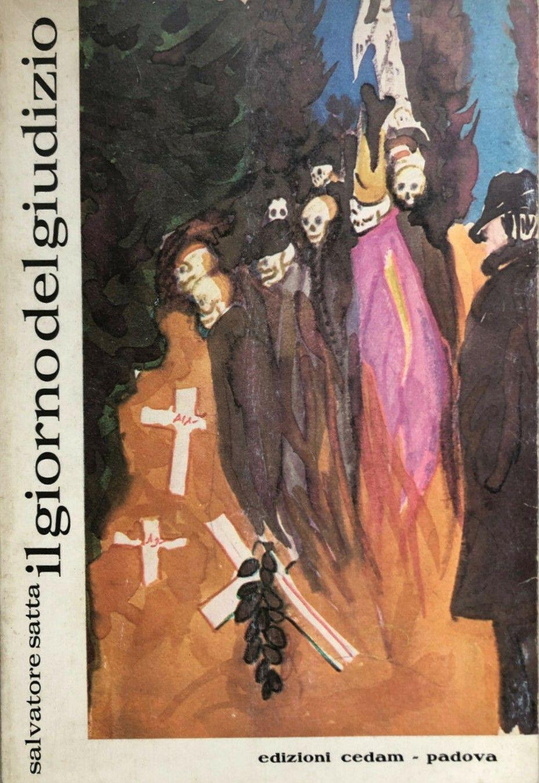 """La prima edizione de """"Il giorno del giudizio"""" di Salvatore Satta su eBay"""