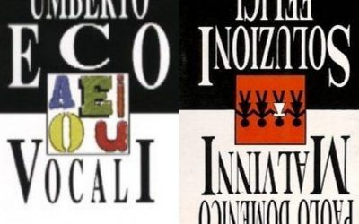 """""""Vocali"""" di Umberto Eco in un Porta Portese sottotono"""