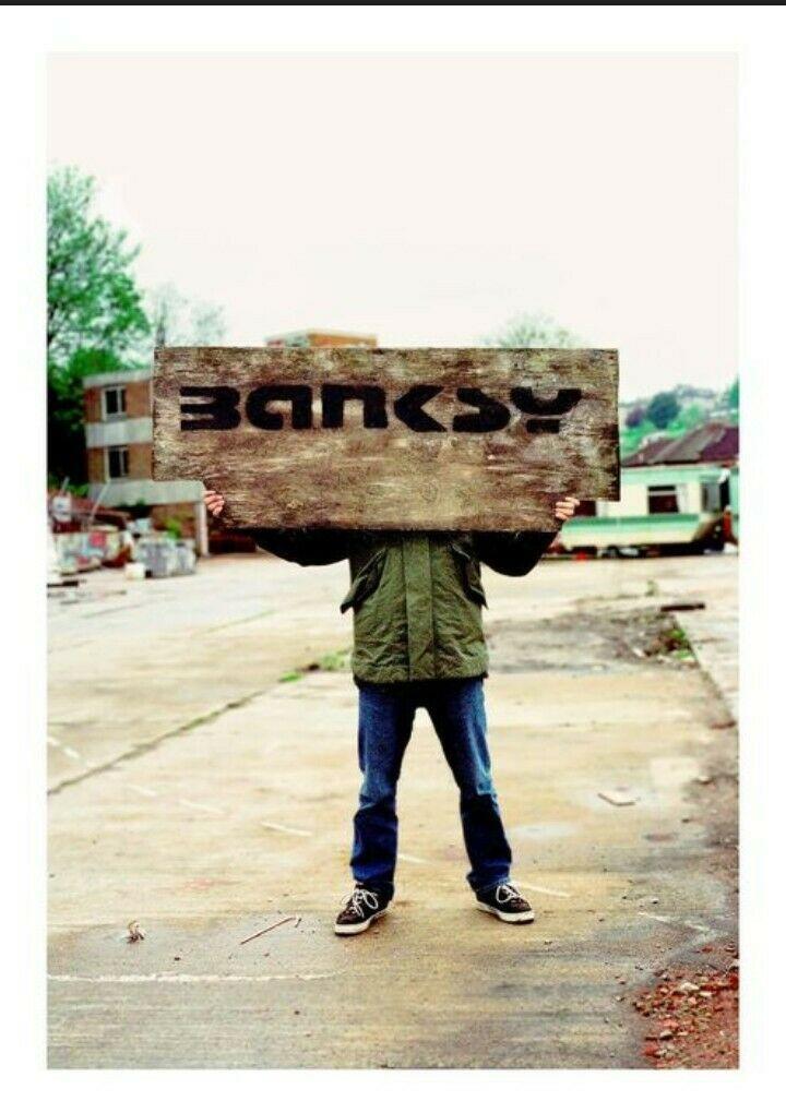 """""""Banksy captured"""" da Steve Lazarides: una copia in asta su eBay Italia"""