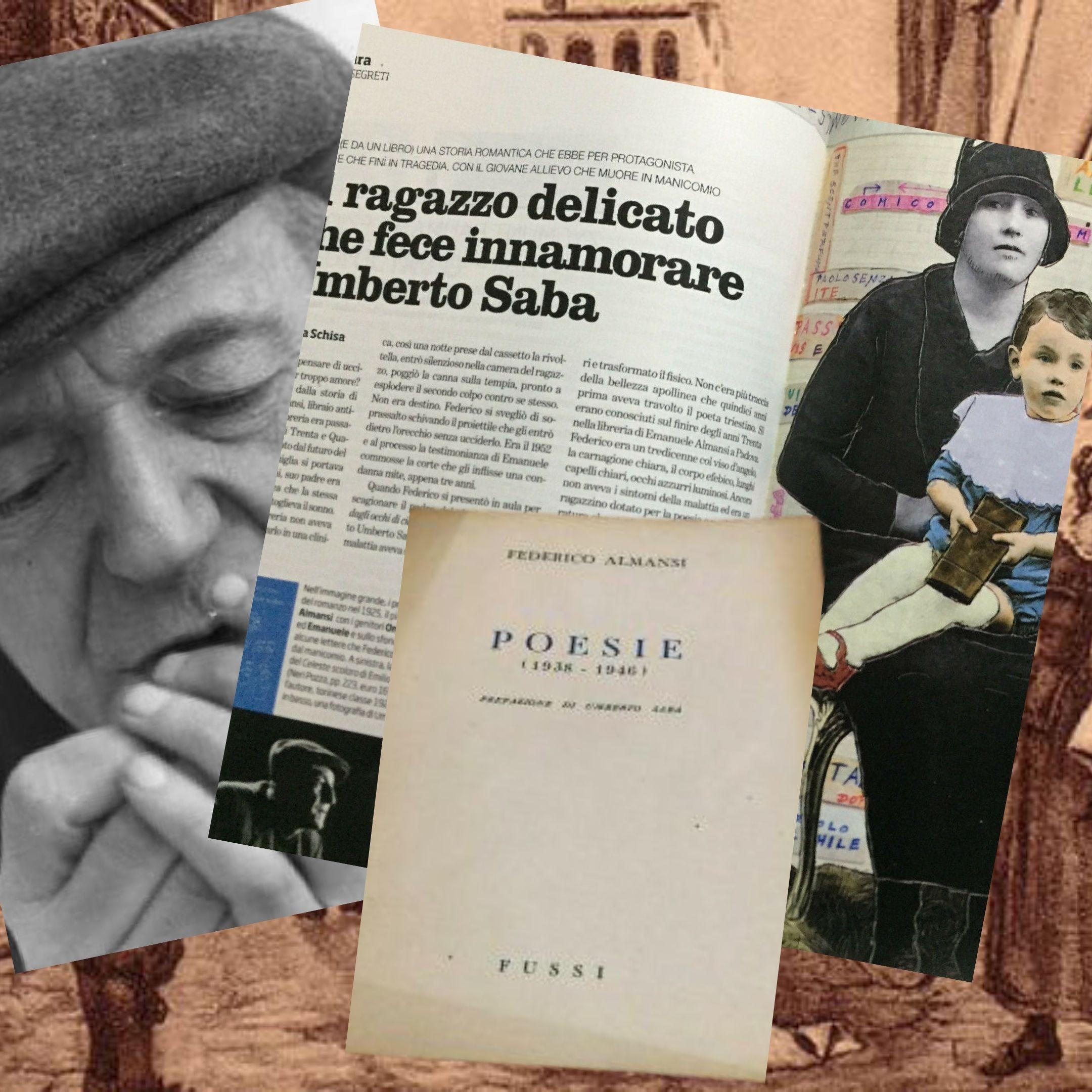 """Venduto su eBay: """"Poesie"""" di Federico Almansi, il libro del pupillo di Umberto Saba"""