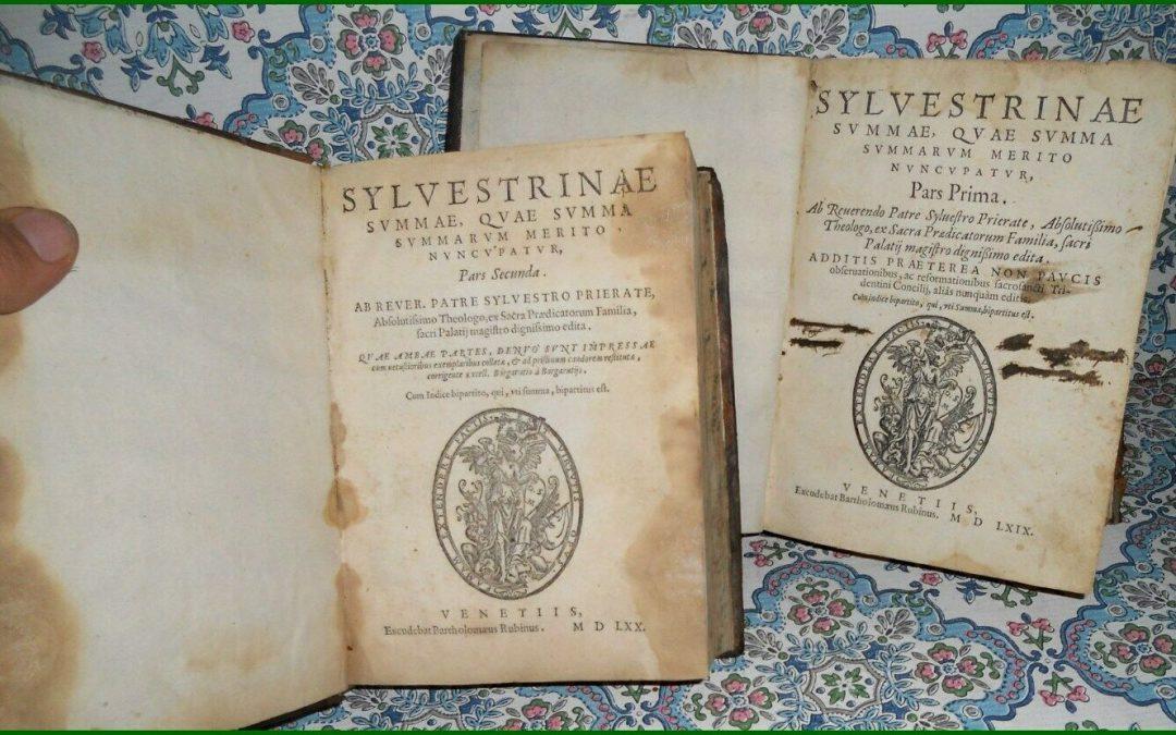 """""""Sylvestrinae Summae"""" di Silvestro Mazzolini (1570) in asta: il cacciatore di streghe di Cuneo"""
