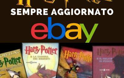 Trova Harry Potter nelle aste di eBay – in scadenza oggi & nei prossimi giorni