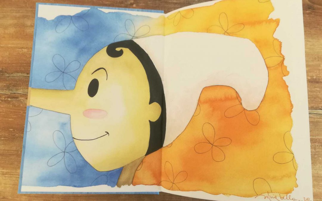 Una copia del Pinocchio di Silvia Bellani e Andrea Fusari in asta su eBay