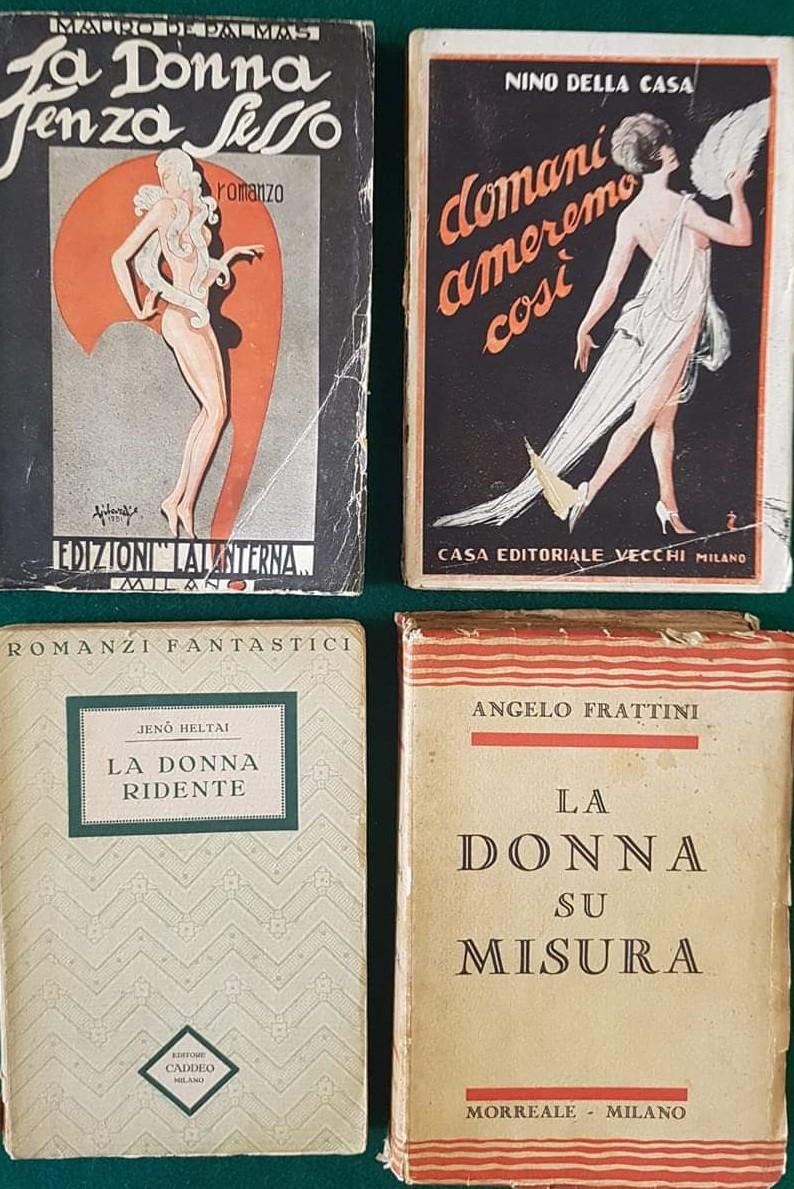 """Quando il proto-fantastico è """"donna"""": quattro libri da collezione!"""