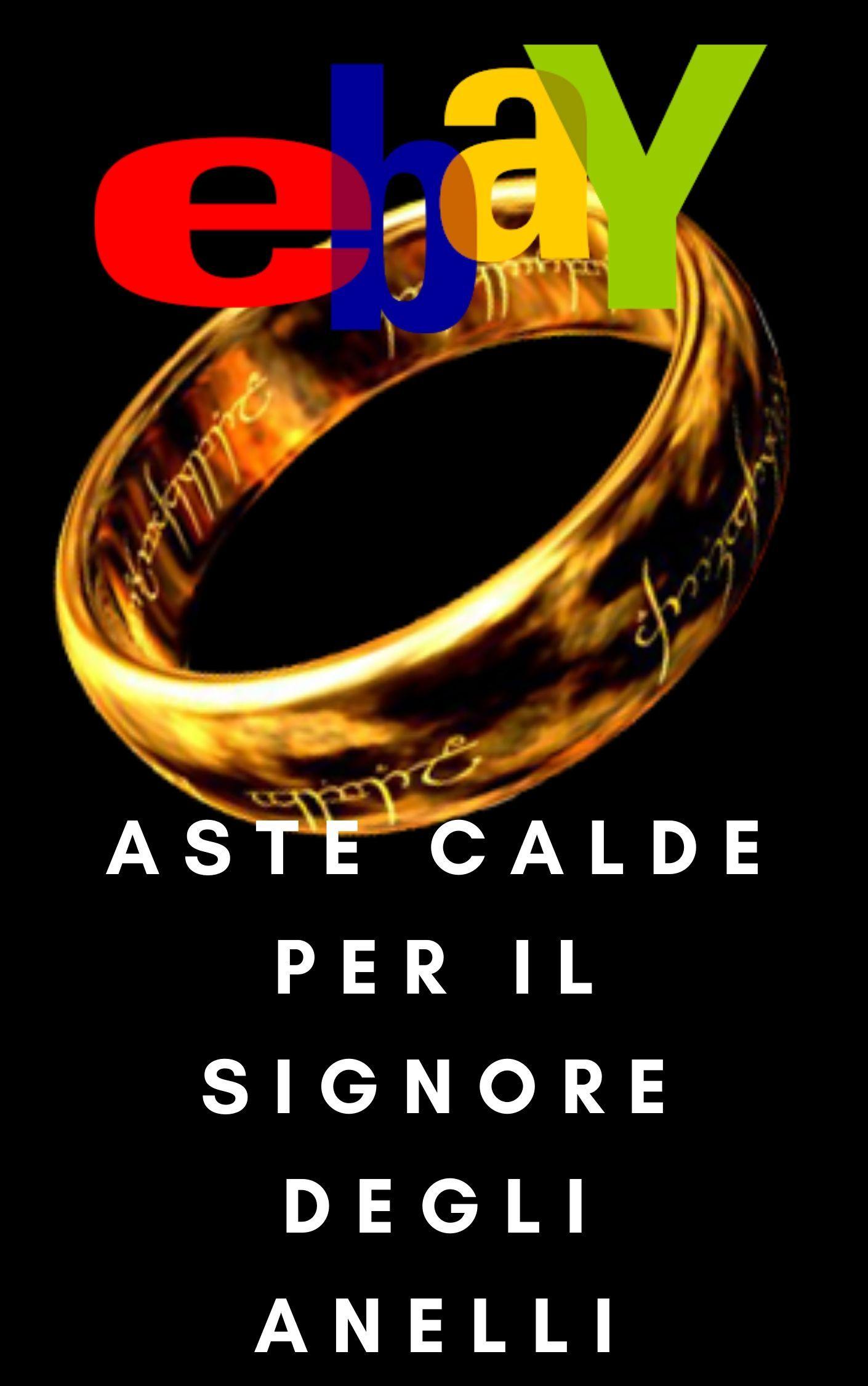 """Trova """"Il Signore degli anelli"""" di Tolkien nelle aste di eBay – in scadenza oggi & nei prossimi giorni"""