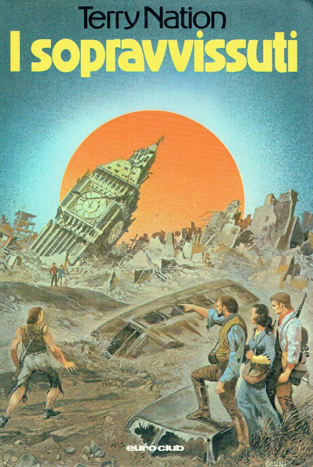 """Rastrellata su eBay ogni copia presente de """"I sopravvissuti"""" di Terry Nation. Argomento: pandemia"""