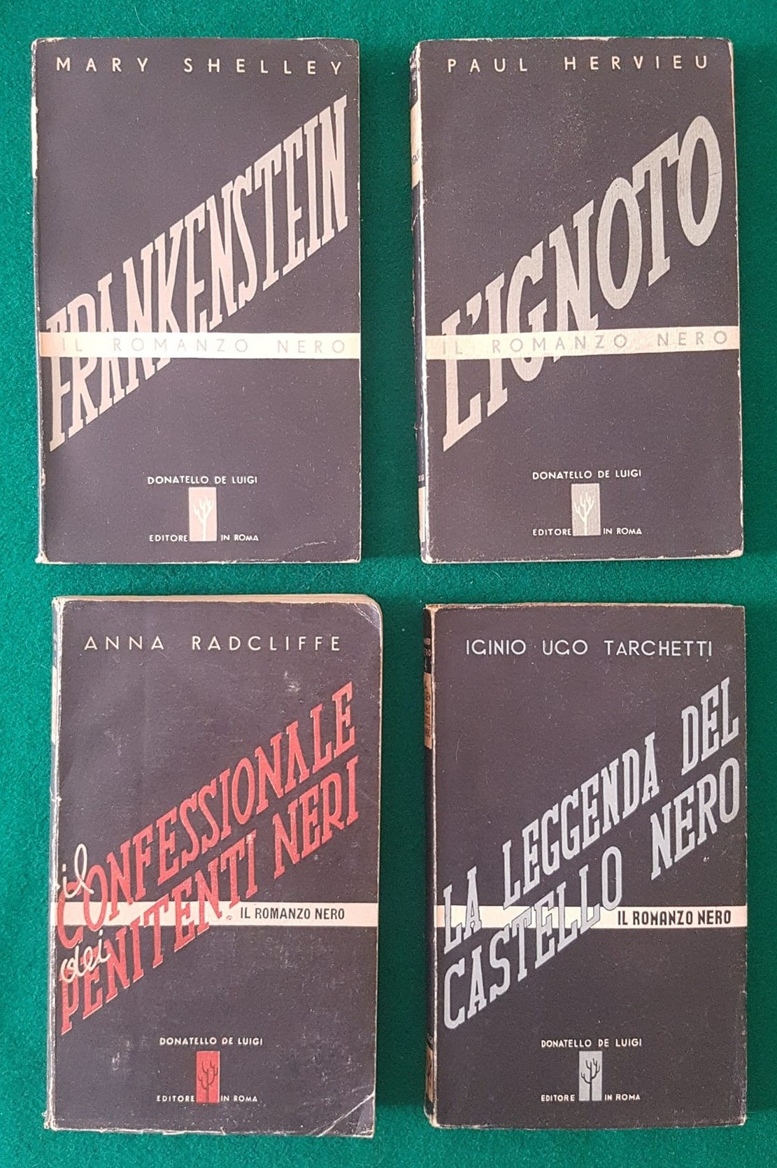 """""""Il romanzo nero"""", la collana di soli 4 libri che nessuno può finire!"""