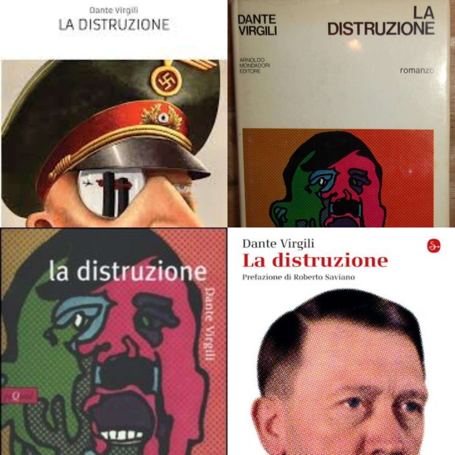 """Dante Virgili e il caso del romanzo maledetto """"La distruzione"""""""