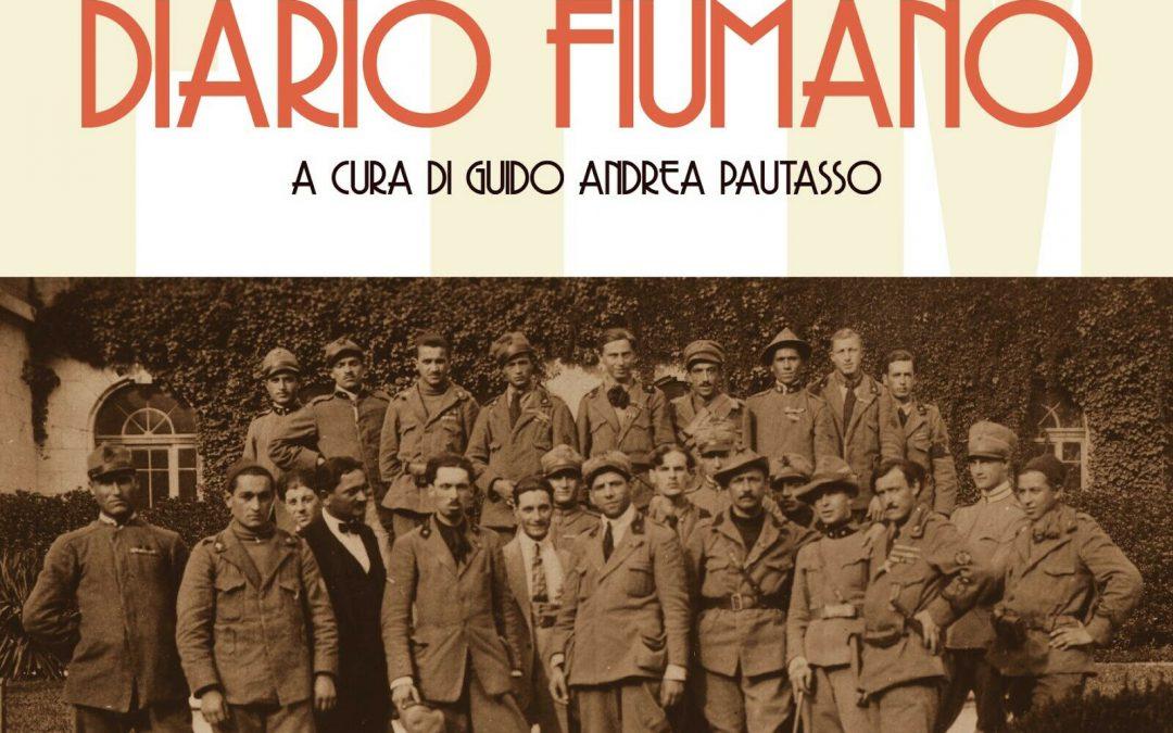 """Notizia strabiliante: è uscito """"Diario Fiumano"""" di F. T. Marinetti! Contengo la mia emozione"""