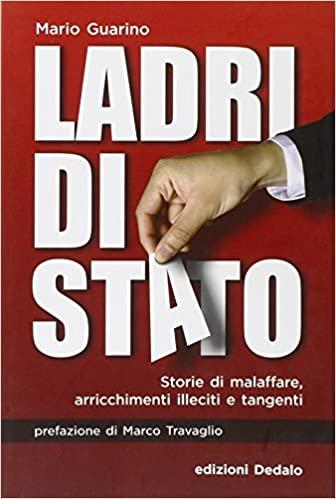 """""""Ladri di Stato"""" di Mario Guarino al mercatino della Garbatella"""