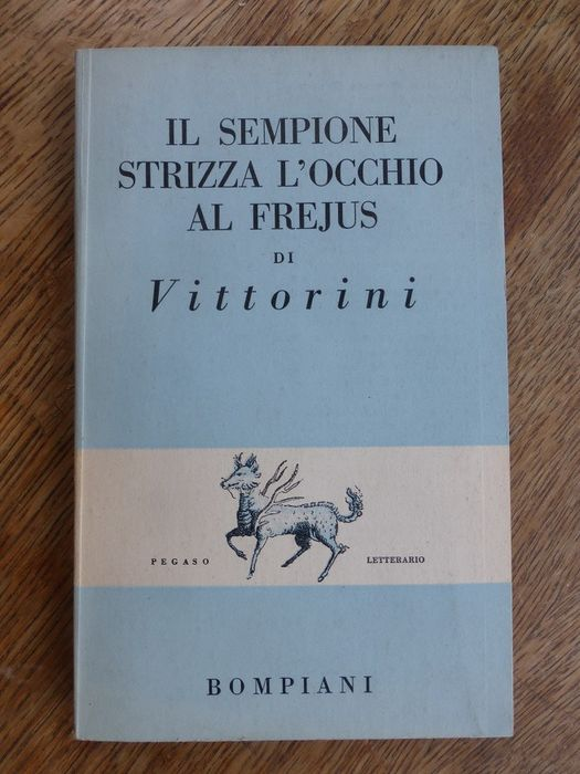 """""""Il Sempione strizza l'occhio al Frejus"""" in asta su Catawiki: copia firmata!"""