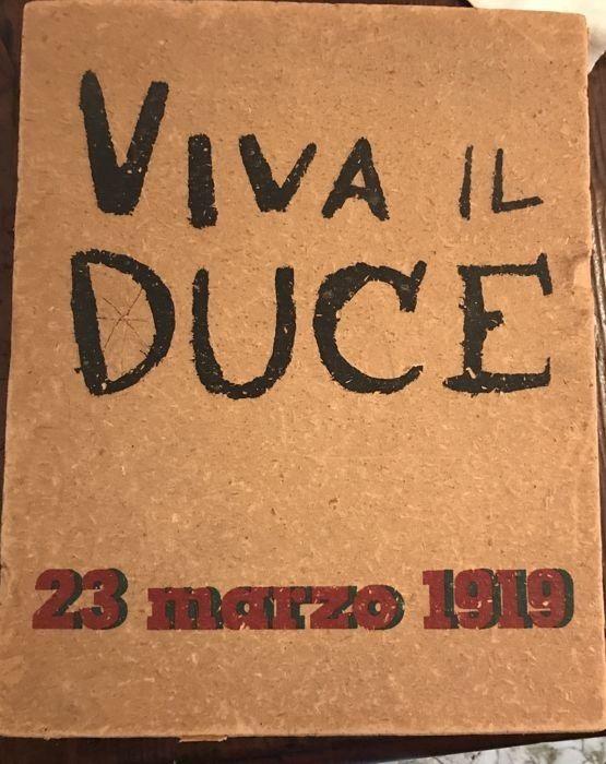 """Tra poco in asta su Catawiki: """"Viva il Duce"""" di Mario Sironi (1939)"""