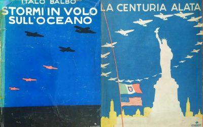 Due libri rari di Italo Balbo (1931 e 1933) in vendita su eBay