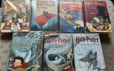 La collezione dei primi 7 Harry Potter tutti in prima stampa su eBay