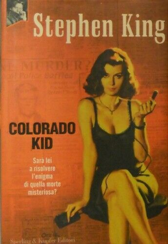 """Colorado Kid"", di Stephen King al mercatino"