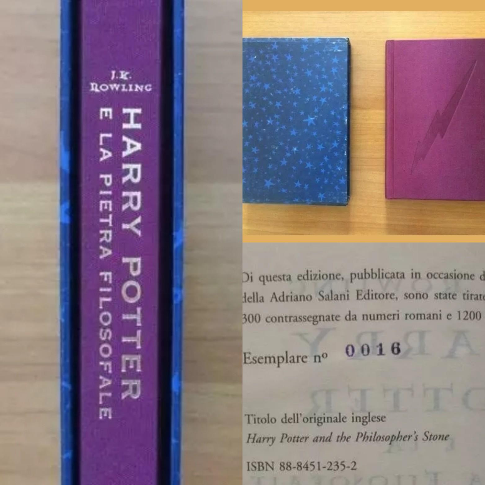 """Asta super pazza per l'edizione di """"Harry Potter e la pietra filosofale"""" per i 140 anni della Salani"""