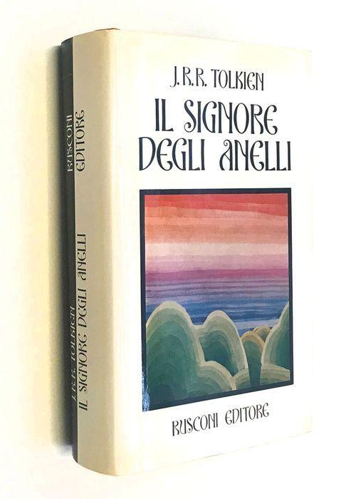"""""""Il Signore degli Anelli"""" di Tolkien (seconda edizione, 1971) a 1 €"""