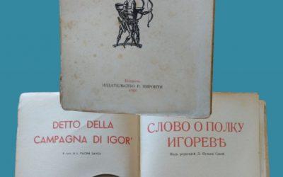 """Quando Raffaele Pironti stampò """"Detto della campagna di Igor"""" in russo"""