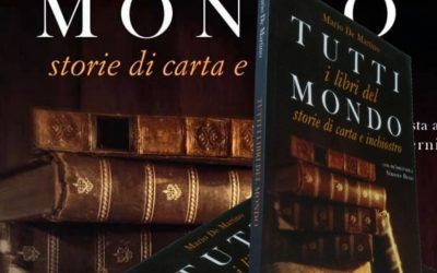 """""""Tutti i libri del mondo"""" in una volta sola: l'esordio di Mario De Martino è da record!"""