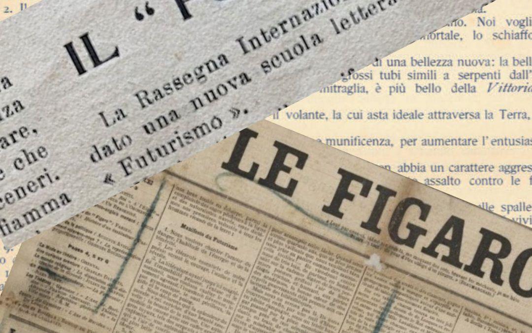 """Il """"Manifesto del Futurismo"""" su """"La Tavola Rotonda"""" di Napoli"""