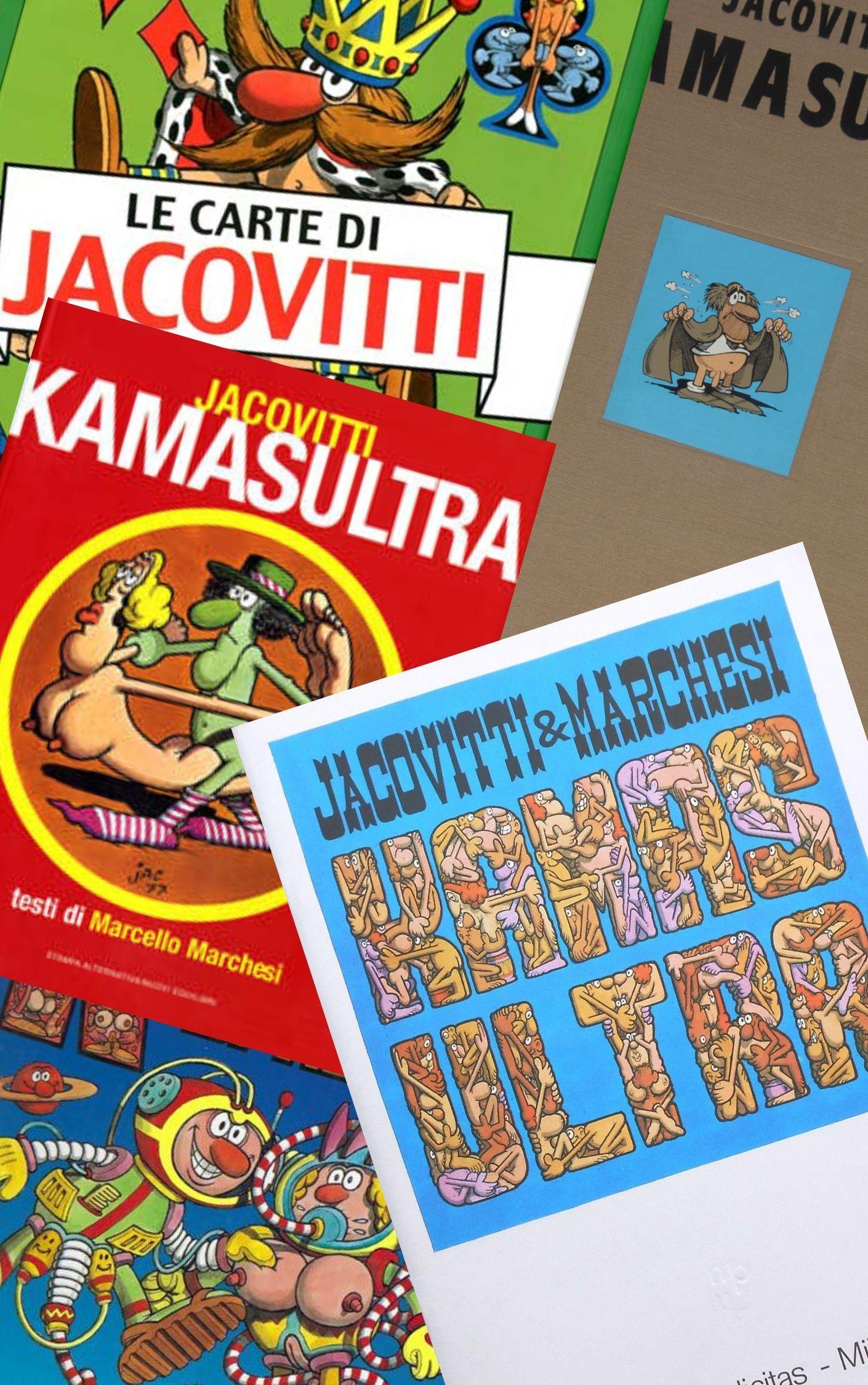 """Tutte le posizioni del Kamasutra nel """"Kamasultra"""" di Jacovitti"""