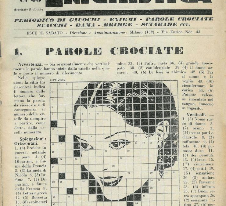 """Il primo numero de """"La settimana enigmistica"""" del 1932 a 14.500 € su eBay"""
