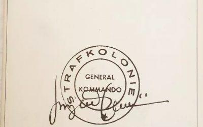 NELLA COLONIA PENALE di Franz Kafka Illustrazioni di Luigi Serafini Rarissimo !