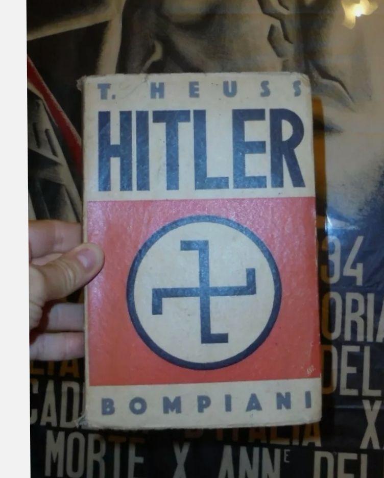 Hitler – T. Heuss. Bompiani 1932 MOLTO RARO: il primo libro uscito in Italia su Hitler