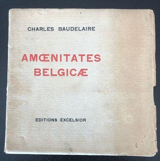 """""""Amoenitates Belgicae"""", di Charles Baudelaire (Paris, Éditions Excelsior, 1925) in asta su Catawiki"""