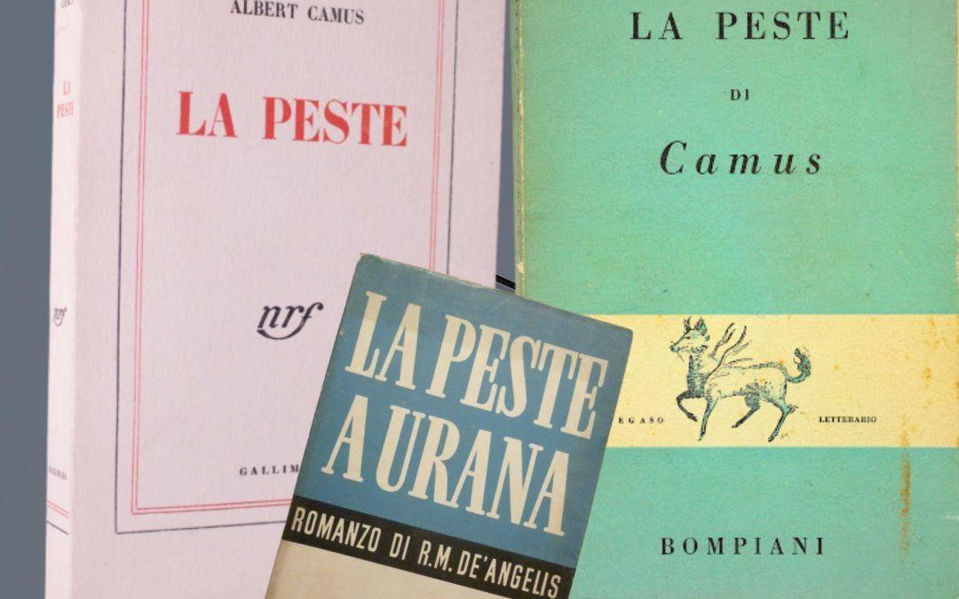 "Quando De Angelis accusò di plagio Albert Camus per ""La Peste"""