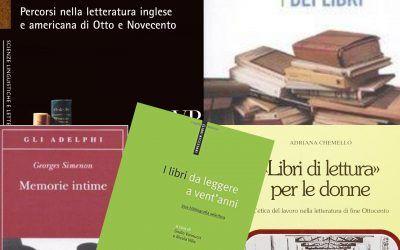 """Selezione di 5 """"libri sui libri"""" fuori catalogo disponibili su Libraccio"""