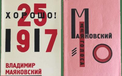 """Kharasho"" e ""Dlya gòlosa"" di Vladimir Mayakovsky su Catawiki"