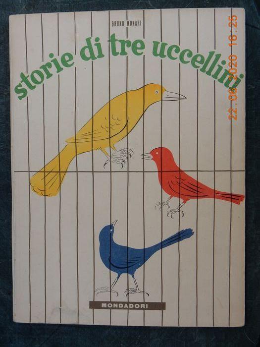 """Storie di tre uccellini"", di Bruno Munari: la prima edizione del 1945 in asta su Catawiki"