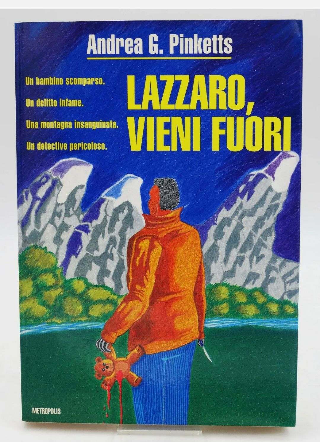 LAZZARO, VIENI FUORI Andrea G Pinketts, Edizioni Metropolis 1a Ed 1992 RARITÀ