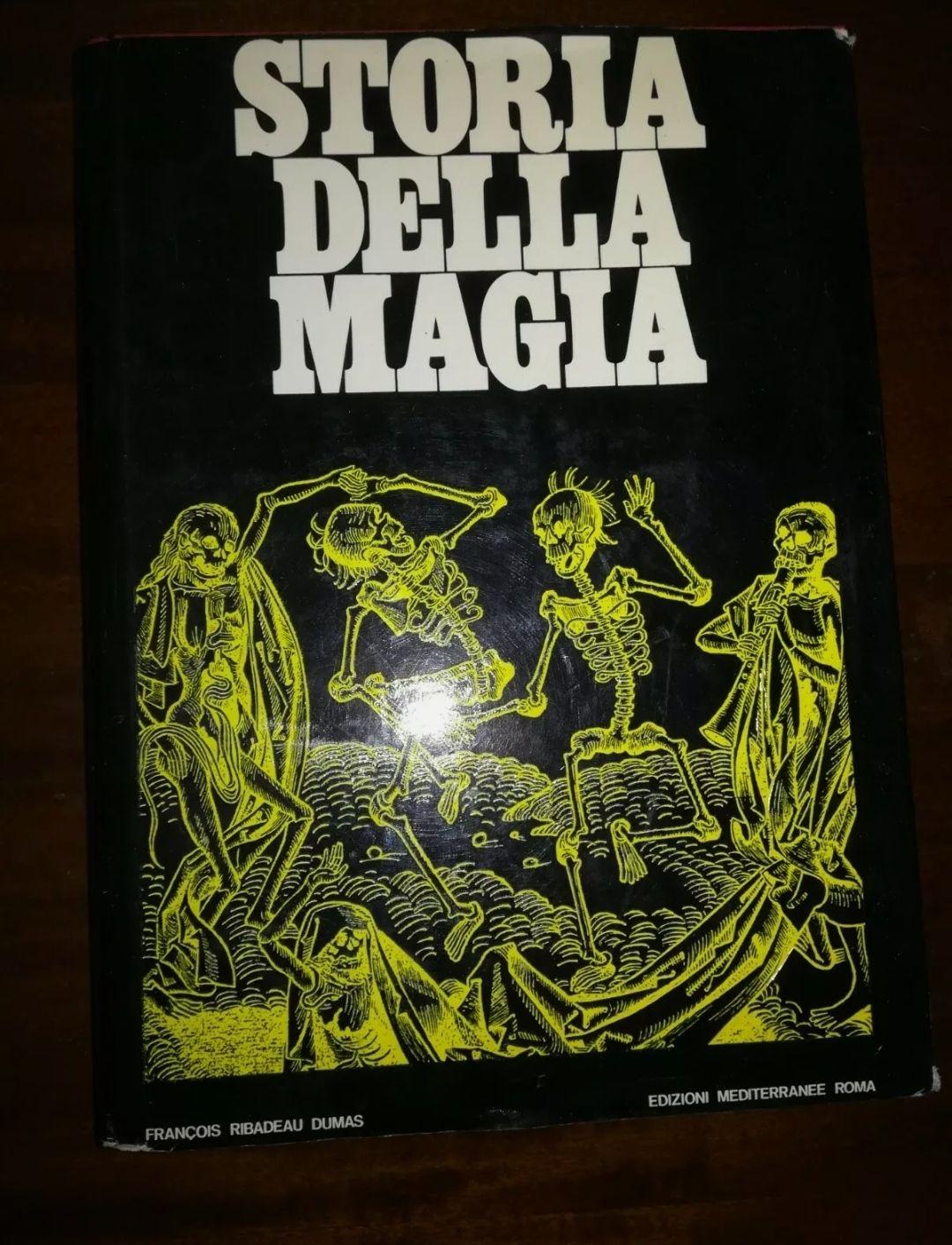 STORIA DELLA MAGIA DI F.R. DUMAS EDIZIONI MEDITERRANEE RARISSIMO ANNO 1968