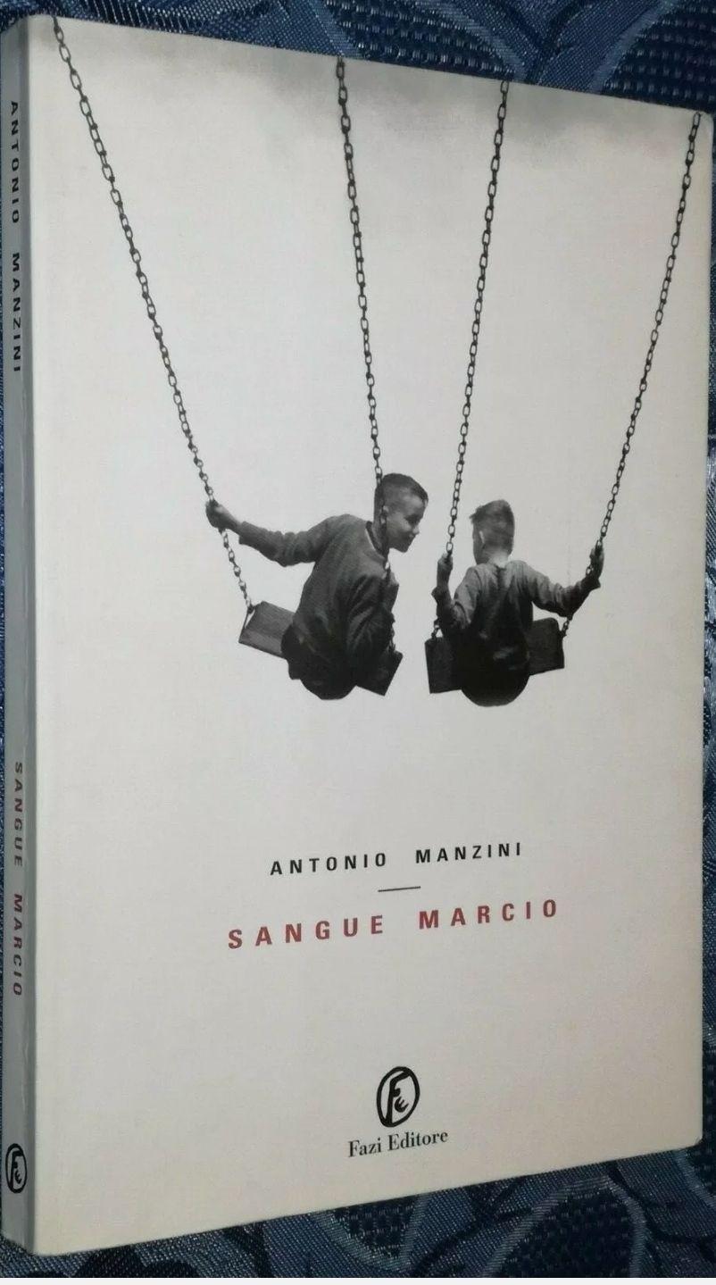 Sangue Marcio Antonio Manzini Prima Edizione Fazi 2005 Libro Narrativa Thriller