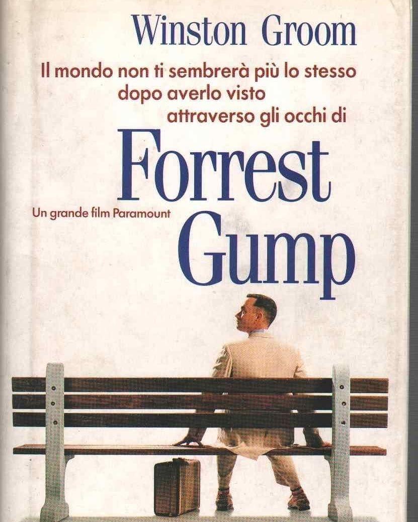 FORREST GUMP LIBRO ITALIANO (INTROVABILE) 1994 Rarissimo, in asta 1 €