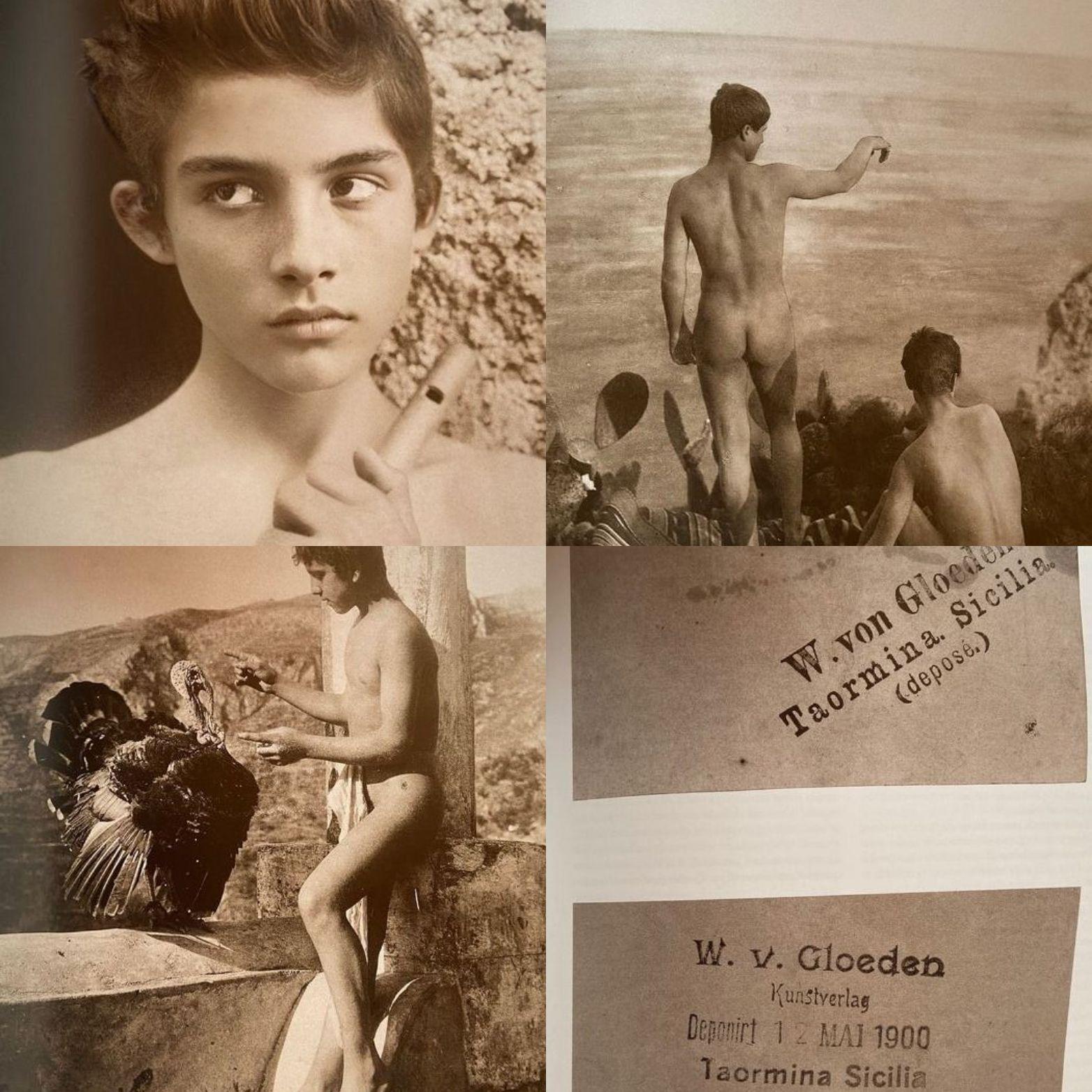Protetto: Le foto di nudi maschili di Wilhelm von Gloeden nel libro di Annarita Caputo [password: gloeden]