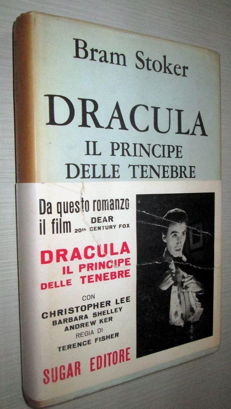 DRACULA IL PRINCIPE DELLE TENEBRE (Ed. Sugar 1966 MOLTO RARO con fascetta) – Bram Stoker