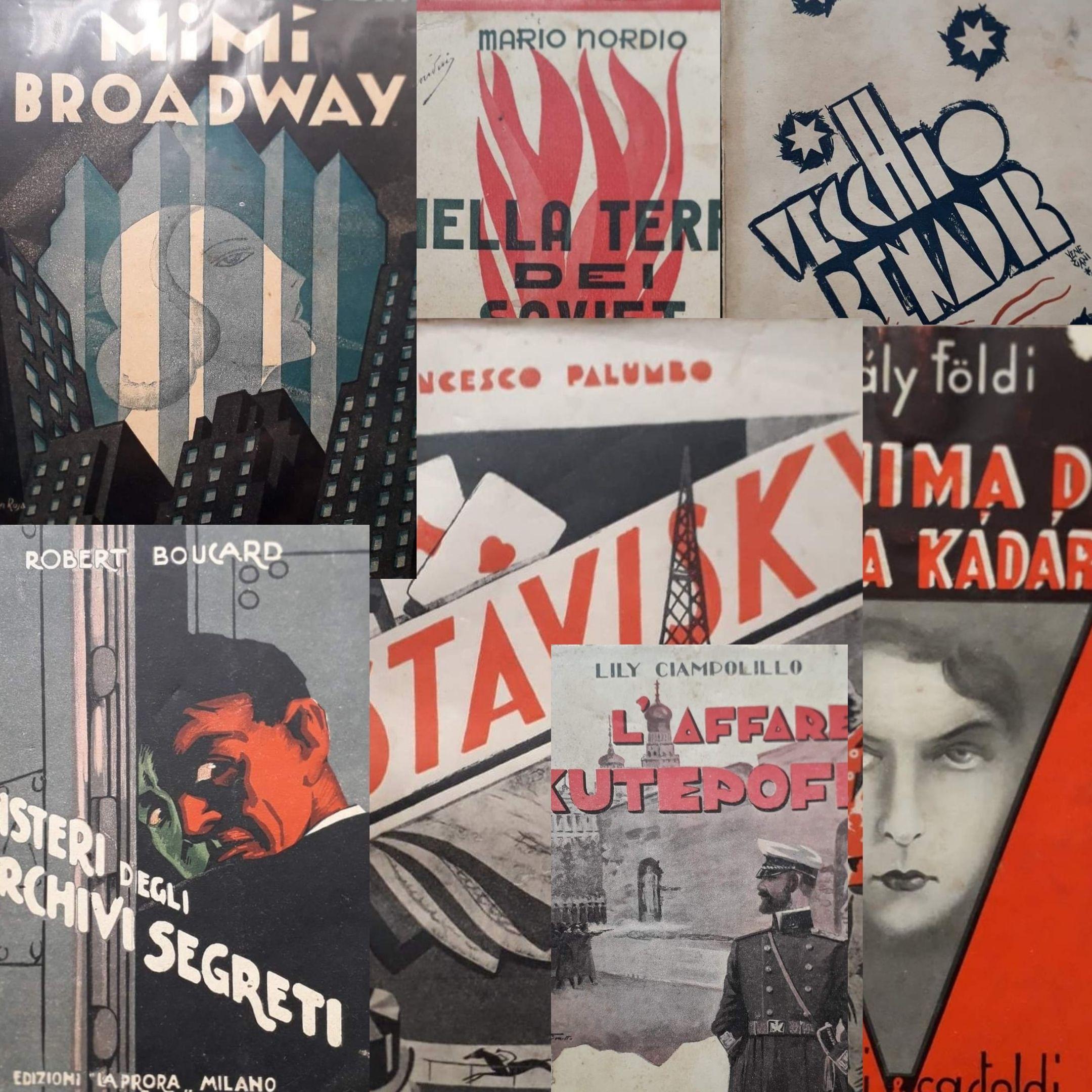 Otto copertine: per una piccola storia della grafica degli anni '30 del XX secolo