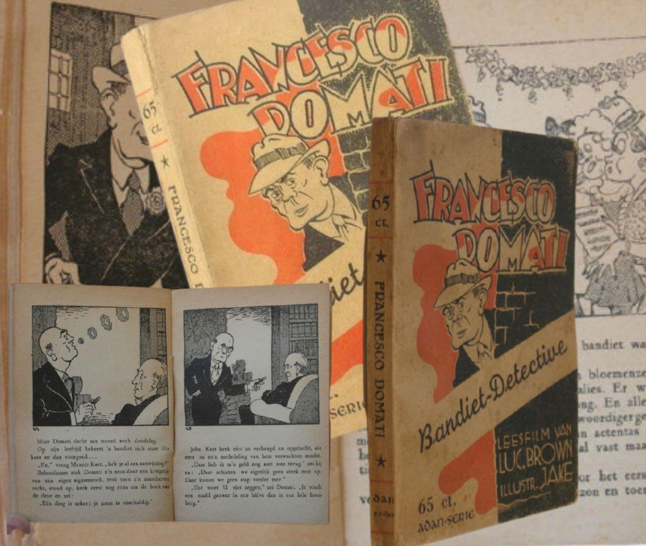 Quesito per gli appassionati di gialli e polizieschi: chi era Francesco Domati?