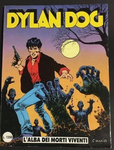"""Il n. 1 originale di Dylan Dog """"L'alba dei morti viventi"""" 1986 – in asta, 160 €"""