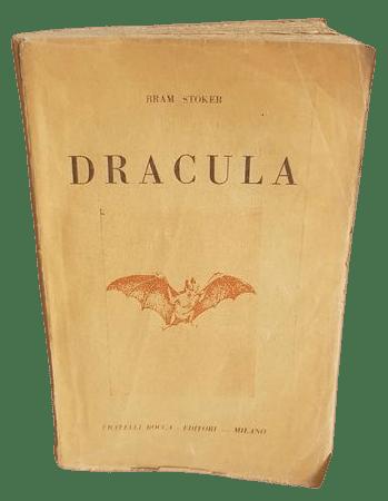 """In asta su Catawiki la prima edizione integrale di """"Dracula"""" di Bram Stoker (F.lli Bocca, 1945)"""