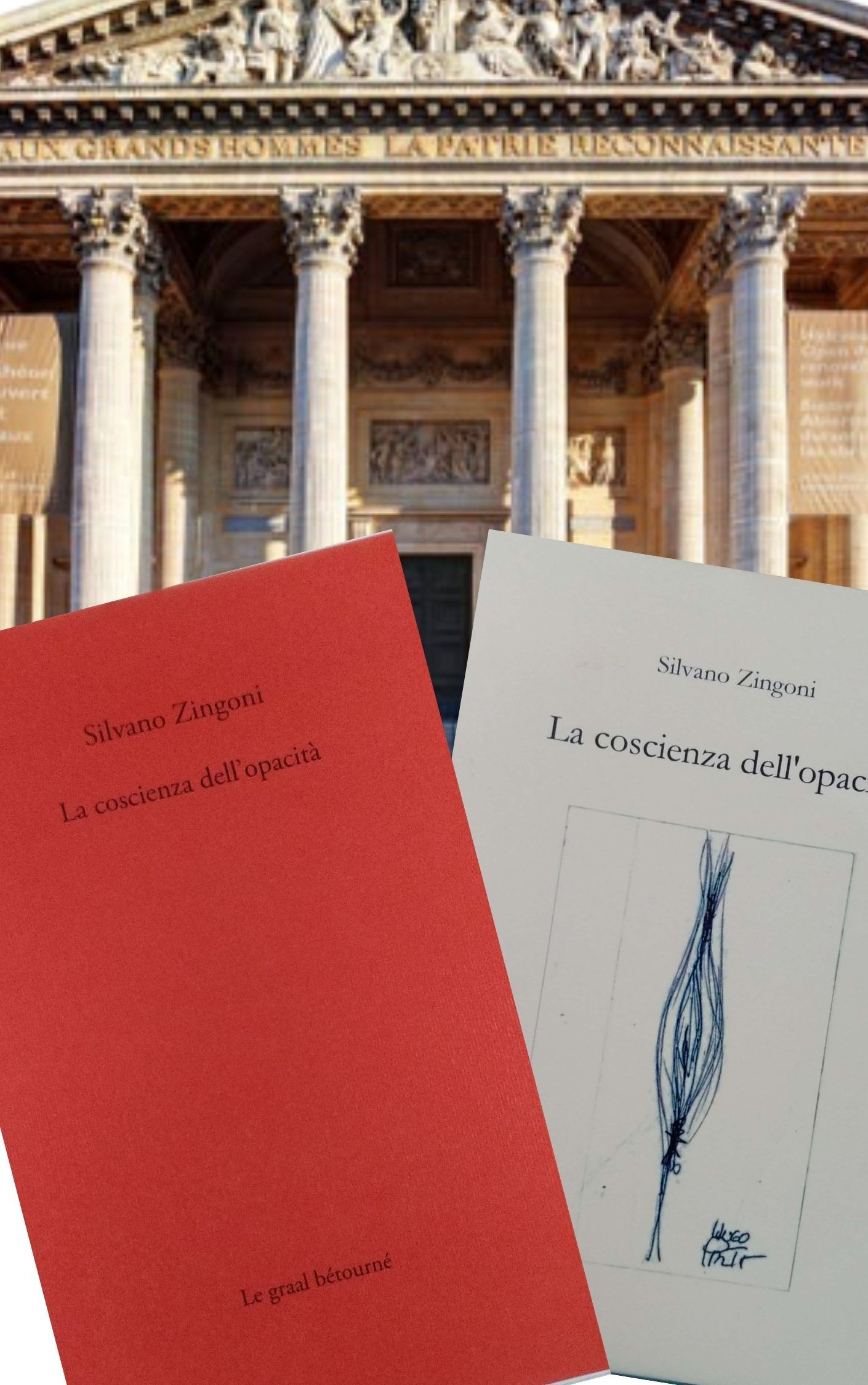 """La seconda edizione de """"La coscienza dell'opacità"""" di Silvano Zingoni: un libro sui libri quasi impossibile da ottenere…"""