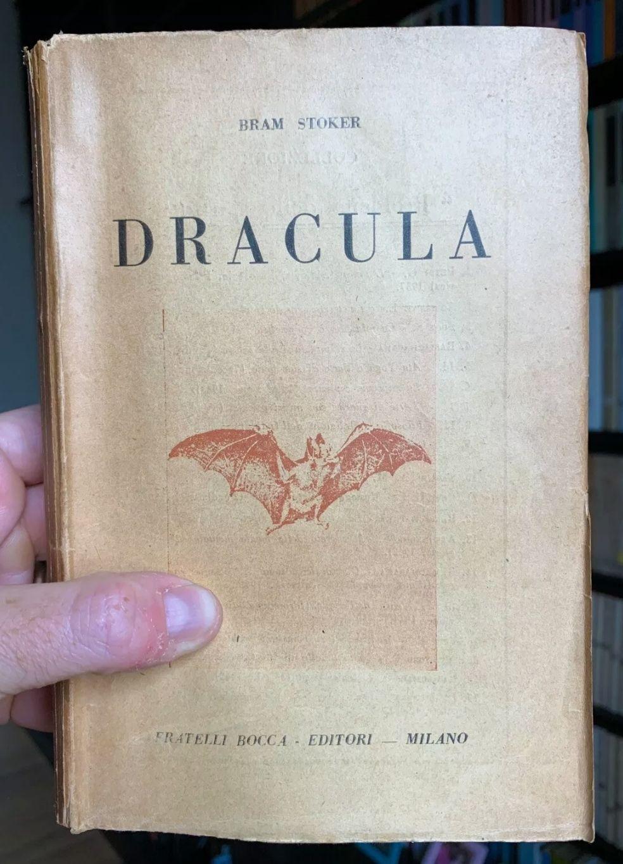 """""""Dracula"""" Di Bram Stoker – Fratelli Bocca Prima Edizione integrale italiana 1945"""