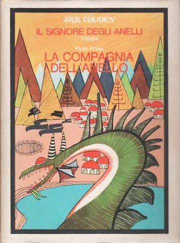 """""""La Compagnia dell'Anello"""" di Tolkien (Astrolabio, 1967) in asta su Subito.it (senza indicazione del prezzo)"""