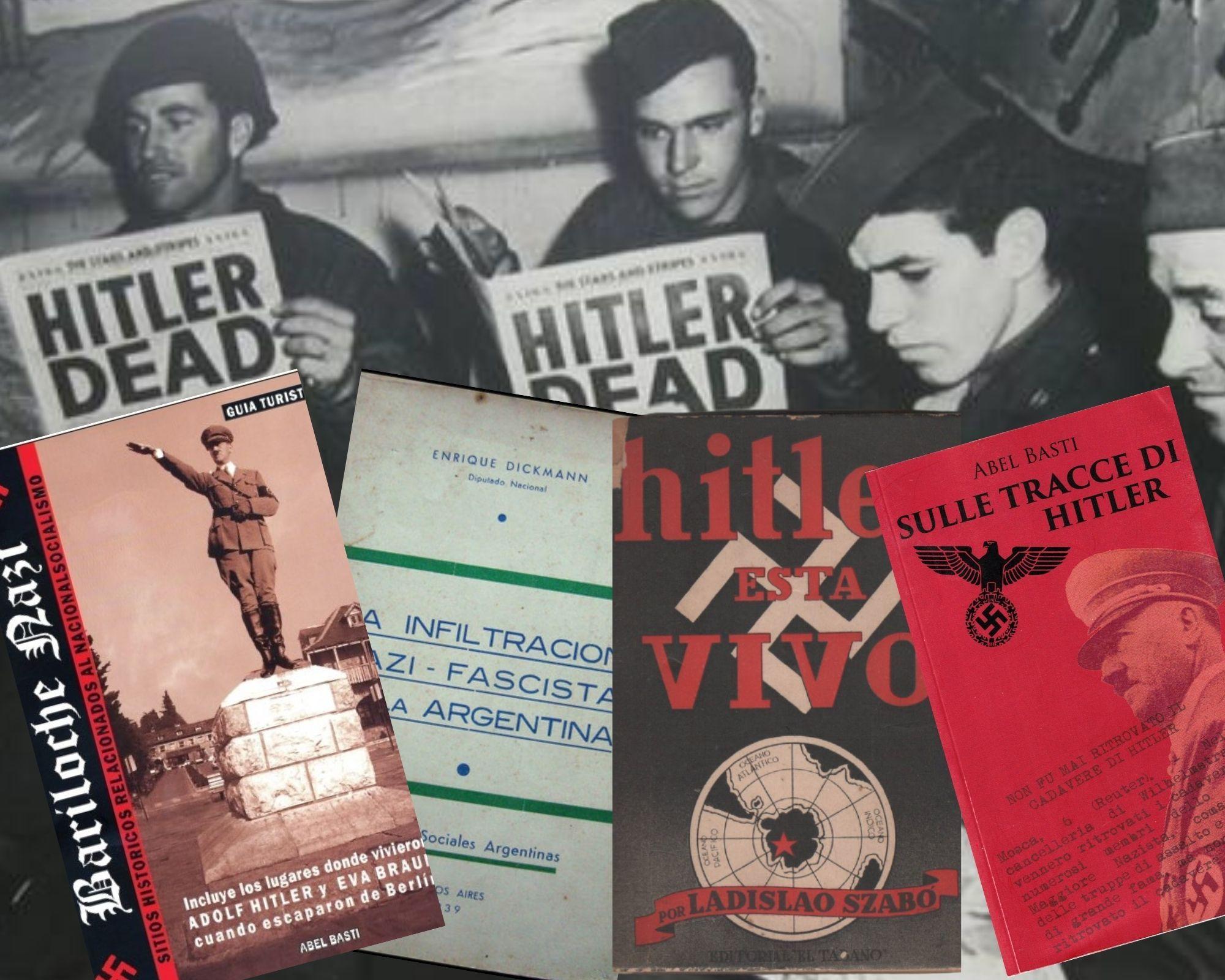 Hitler morto? Macché, è vivo: nascosto in Argentina, in Colombia, in Antartide…