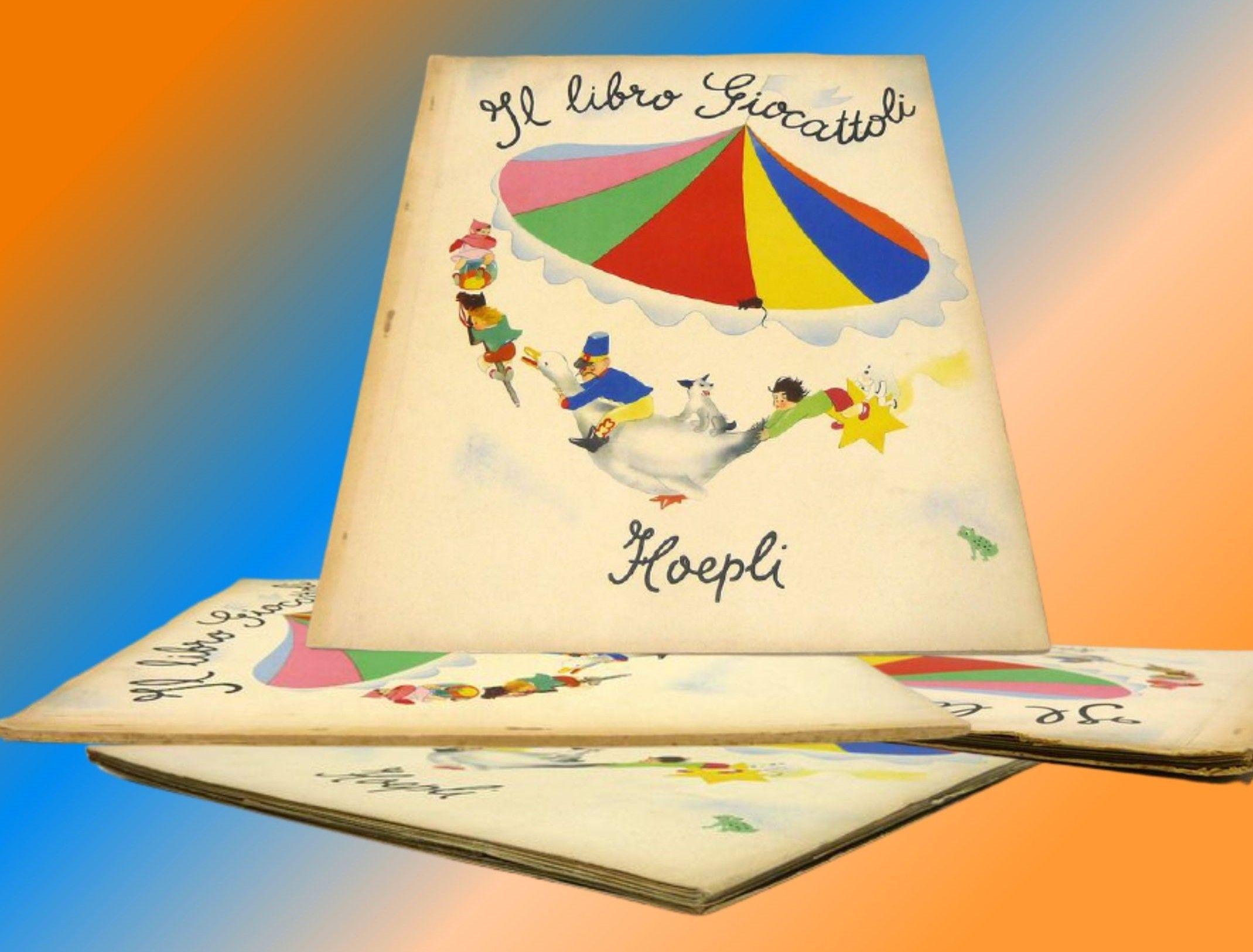 """""""Il libro giocattoli"""" di Edina Altara (Hoepli, 1945) in asta su Catawiki"""