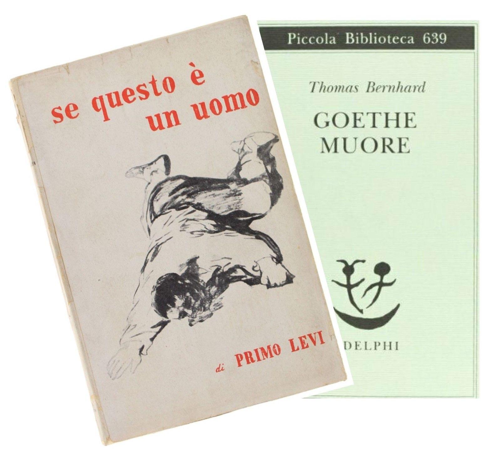 """""""Goethe muore"""" di Thomas Bernhard, e io non sapevo neppure che stesse male"""