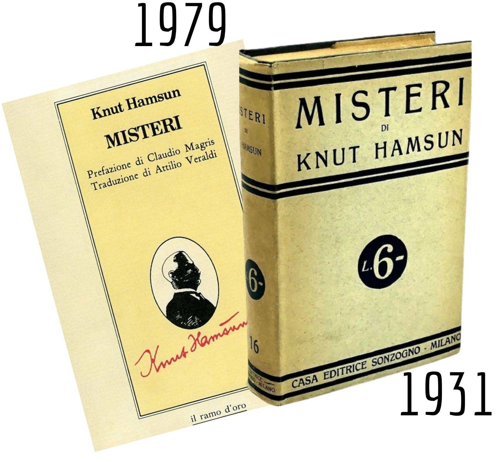 """I """"Misteri"""" di Knut Hamsun al mercatino di Porta Portese"""